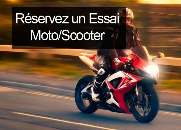 tester une moto