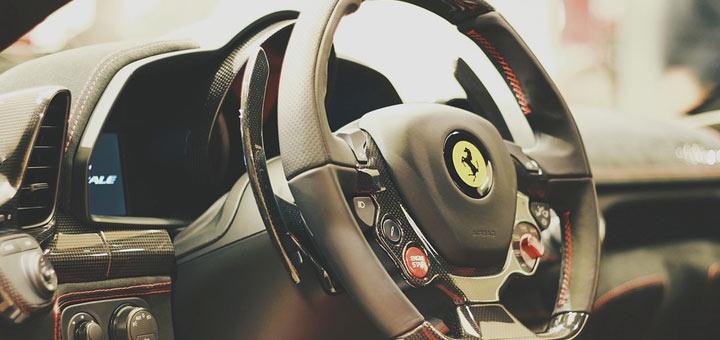 Volant de Ferrari